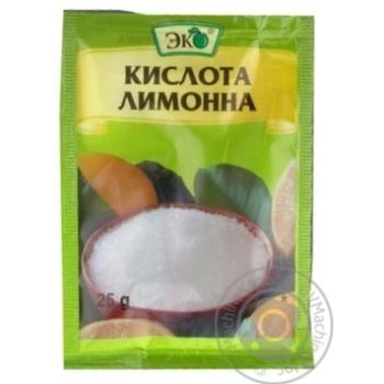 Кислота лимонная Эко пищевая 25г