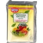 Dr.Oetker for desserts lemon acid 8g