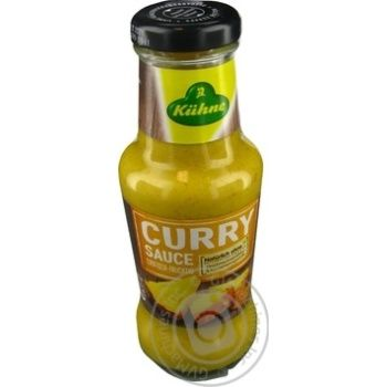 Kuhne curry sauce 263g