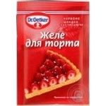 Dr.oetker for desserts red jelly 8g