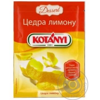 Kotanyi Lemon Peel 14g - buy, prices for Novus - image 6