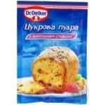 Dr.Oetker for baking with vanilla powdered sugar 80g