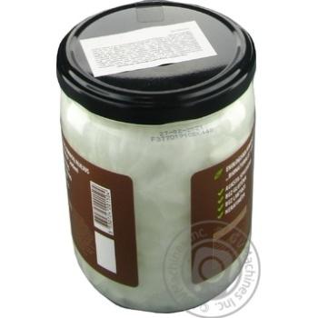Масло кокосовое Bionaturalis органическая нерафинированная 500мл - купить, цены на Novus - фото 3