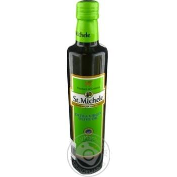 Масло St.Michele оливковое Экстра Вирджин нерафинированное первого холодного отжима 500мл