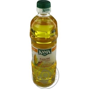 Масло Кaмa кукурузное рафинированное дезодорированное 455г