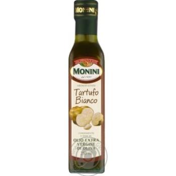 Масло Монини оливковое экстра вирджин первого холодного отжима с белыми трюфелями 250мл
