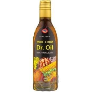 Смесь масел Dr.Oil растительных нерафинированных 250мл