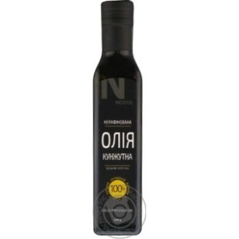 Oil Novus sesame 250ml glass bottle - buy, prices for Novus - image 3