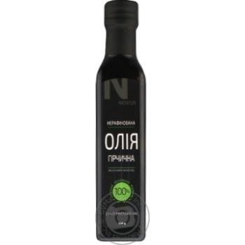 Олія з насіння гірчиці Novus нерафінована 230г - купити, ціни на Novus - фото 2