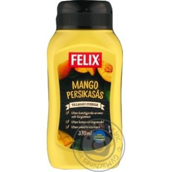 Соус манго-персиковий Felix пет 380г