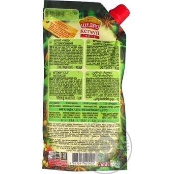 Кетчуп Щедро Чили 300г - купить, цены на Novus - фото 3