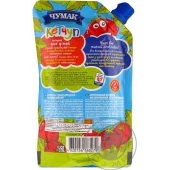 Кетчуп Чумак Нежный для детей 200г - купить, цены на Novus - фото 2