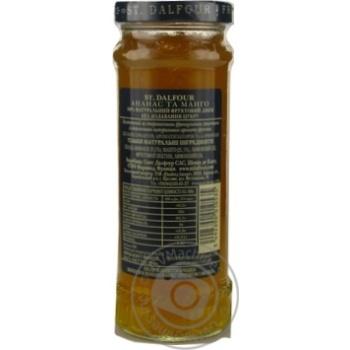 St.Dalfour Pineapple-Mango Jam 284g - buy, prices for Novus - image 5