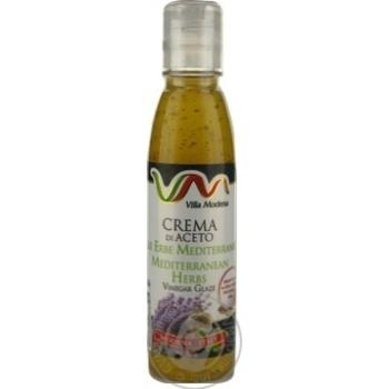 Соус з винного оцту з середземноморськими травами Villa Modena пет 150мл - купить, цены на Novus - фото 1