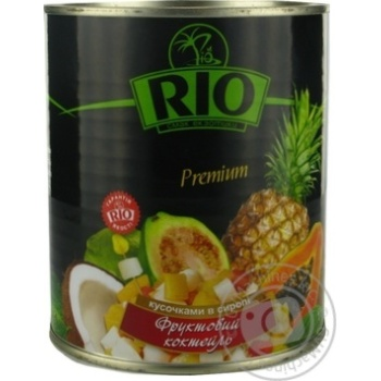 Fruit cocktail Rio 850ml Thailand - buy, prices for Novus - image 2