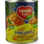Tropic Life Pineapple Rings In Syrup