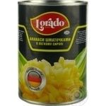Pineapple chunks Lorado in light syrup 565g Thailand