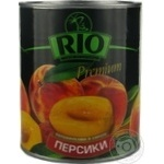 Peach halves Rio in syrup 850ml Greece