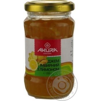 Джем імбирний з лимоном Akura 200 г