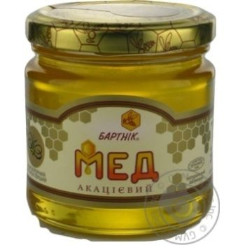 Honey Bartnik flowery 250g glass jar