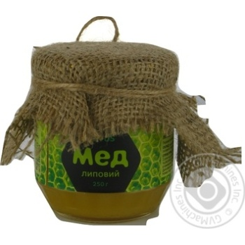 Honey Novus Natural linden 250g