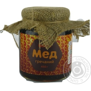 Honey Novus Natural buckwheat 450g