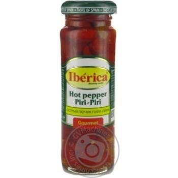 Перец Iberica острый консервированный 100г