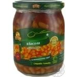 kidney bean Rio in tomato sauce 480g glass jar