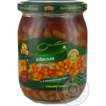 Квасоля в томатному соусі Pio 480мл