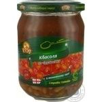 Vegetables kidney bean Rio in tomato sauce 480g glass jar