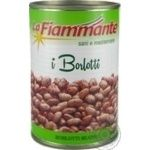 Vegetables kidney bean La fiammante Borlotti canned 400g