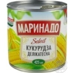 Marinado canned corn 340g