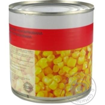 Кукурудза цукрова консервована з цілих зерен Marka Promo банка жестяна420г - купити, ціни на Novus - фото 2