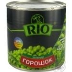 Горошок зелений RIO з/б 425мл