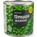 Novus Canned Green Pea Can 410g - buy, prices for Novus - image 4