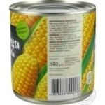 Кукурудза цукрова консервована з цілих зерен стерилізована вакуумована Novus з/б 340г - купити, ціни на Novus - фото 4
