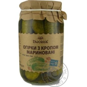 Vegetables cucumber Dworek-1905 canned 860g