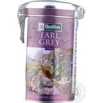 Black tea Qualitea Earl Grey with bergamot 200g can Sri Lanka