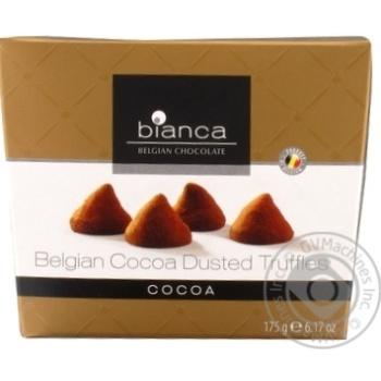 Конфеты Bianca трюфельные со вкусом какао 175г