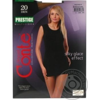 Колготы Conte Prestige 20 Den р.3 natur шт - купить, цены на Novus - фото 5