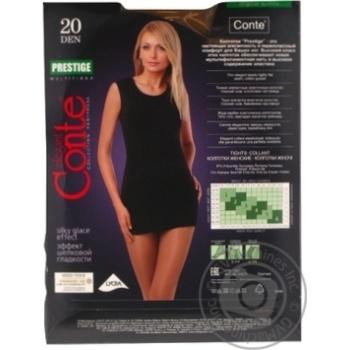 Колготы Conte Prestige 20 Den р.2 bronz шт - купить, цены на Novus - фото 4