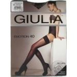 Stockings Giulia for women 40den 1-2size