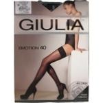 Tights Giulia nero for women 40den 1-2size