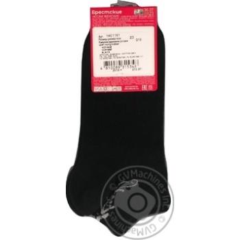 Шкарпетки жіночі Брестские Classic чорні розмір 23 - купити, ціни на Novus - фото 2