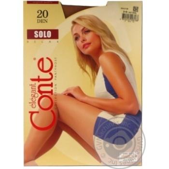 Колготи жiночi Solo Conte 20 розмiр 2 natural - купити, ціни на Novus - фото 4