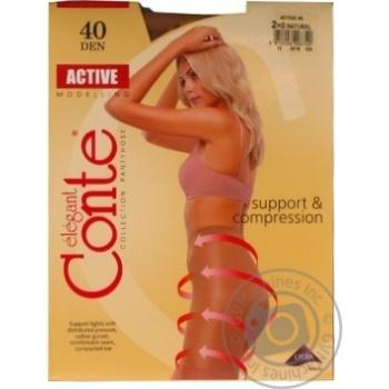 Колготы Conte Active 40 Den р.2 natural шт - купить, цены на Novus - фото 4
