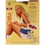 Tights Conte Solo bronze polyamide for women 20den 3size - buy, prices for Novus - image 4