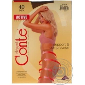 Колготы Conte Active 40 Den р.2 bronz шт - купить, цены на Novus - фото 5
