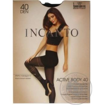 Колготки жіночі Incanto Active Body 40 nero 5