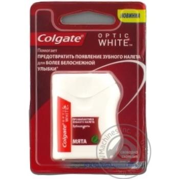 Зубна нитка Colgate Optic White Профілактика зубного нальоту 25м - купити, ціни на Ашан - фото 5